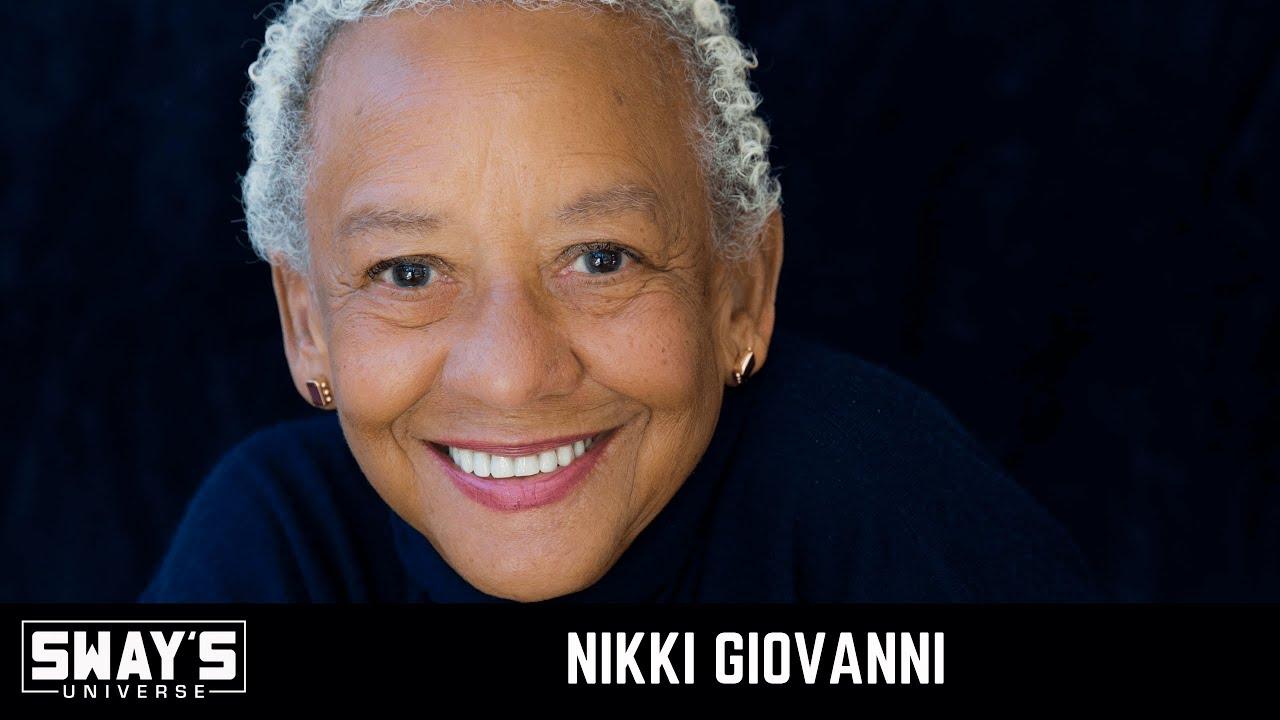 Nikki Giovanni Speaks on New Book 'Make Me Rain' | SWAY'S UNIVERSE