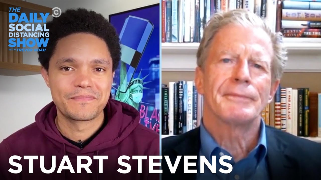 Stuart Stevens - The Evolution of the GOP   The Daily Social Distancing Show