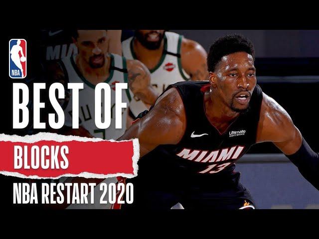 The Best Blocks From NBA Restart