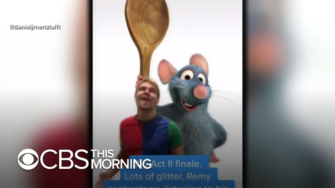 "Tik Tok users create songs for musical adaptation of the 2007 Disney Pixar classic ""Ratatouille"""