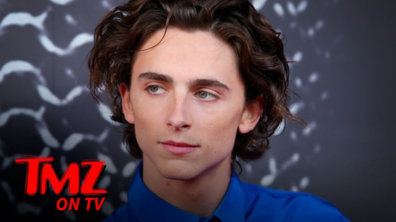 Timothée Chalamet Spotted With A Hickey On His Neck   TMZ TV
