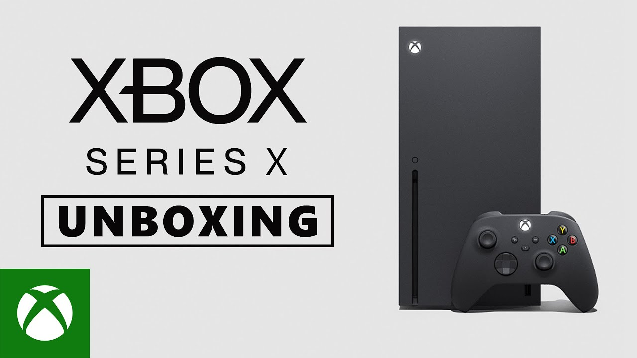 Unboxing the Xbox Series X