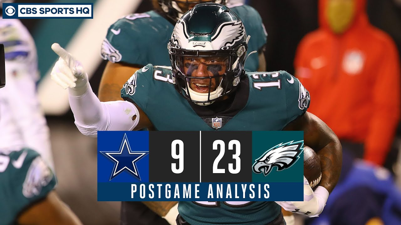 Week 8 Recap: Eagles outlast Cowboys in ugly Sunday Night game, build division lead   CBS Sports HQ
