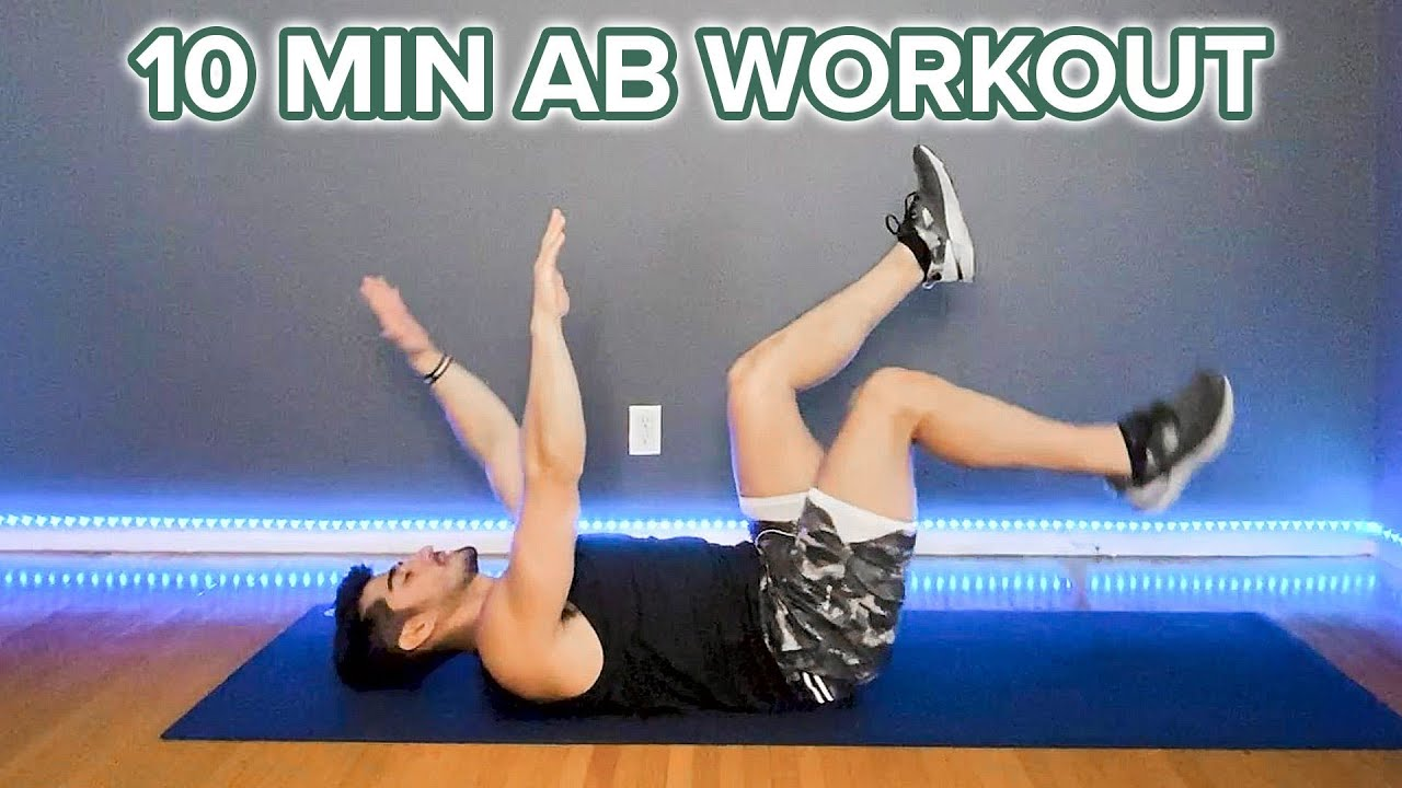 10-Minute Abs Workout Using No Equipment