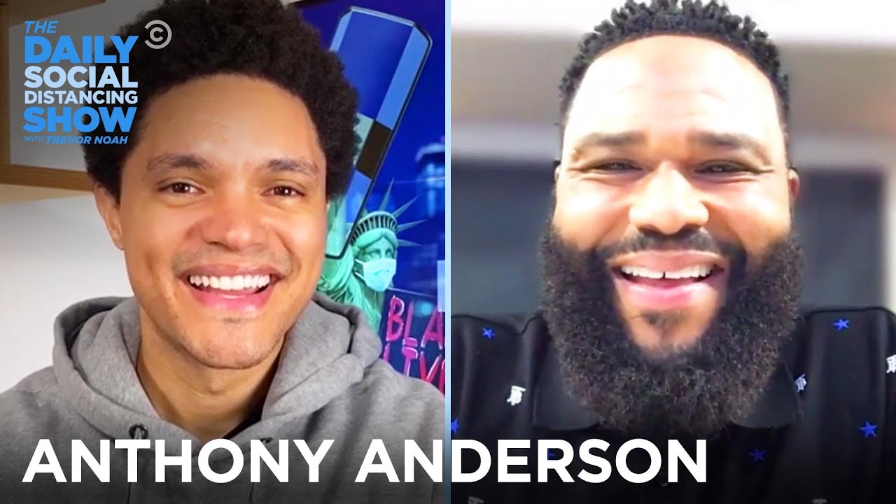 Anthony Anderson - Why Share a Colonoscopy on Social Media? | The Daily Social Distancing Show