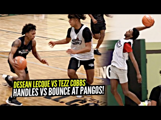 Desean Lecque & Tezz Cobbs Go HEAD TO HEAD! Desean Brings Out The SAUCEY HANDLES & Tezz Gets BOUNCY!