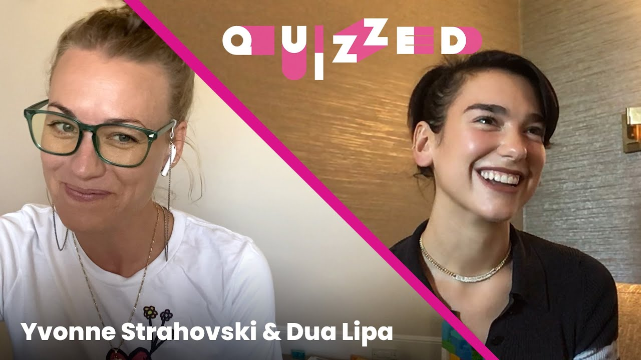 Dua Lipa Gets QUIZZED by Yvonne Strahovski on The Handmaid's Tale