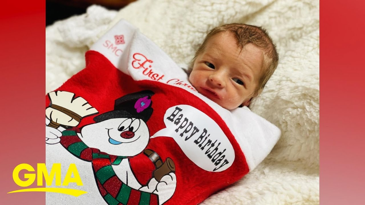 Happy holidays to these preemie babies who are 'sleighing' their first Christmas! l GMA Digital