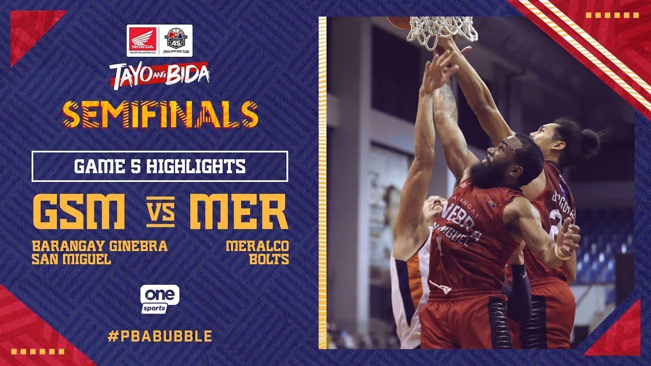 Highlights G5: Ginebra vs Meralco | PBA Philippine Cup 2020 Semifinals