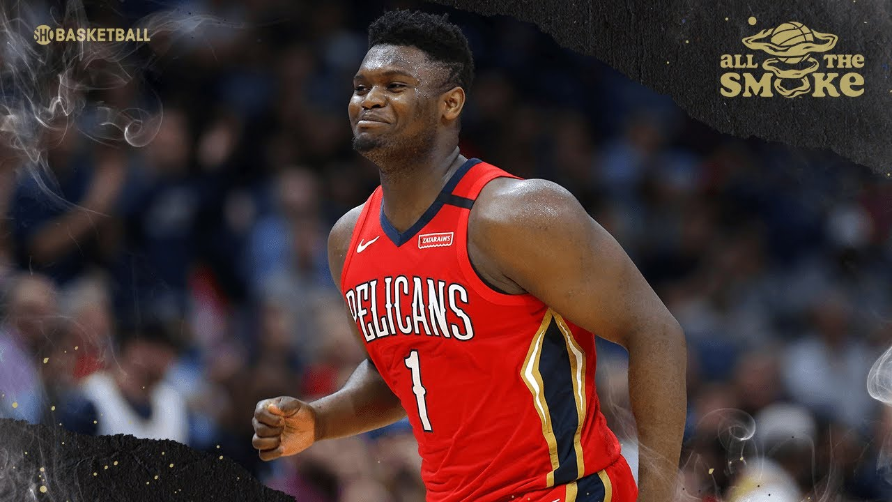 JJ Redick Says Zion's Ceiling Is 'All-NBA, All-Star, and Hall Of Famer'   ALL THE SMOKE