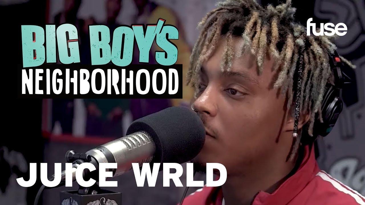 Juice Wrld Shares the Origin Behind his Name | Big Boy x Fuse