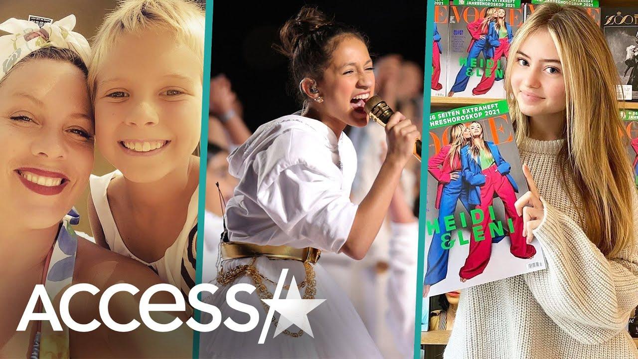 Kanye West, Jennifer Lopez, & Pink's Kids Are Rising Stars!