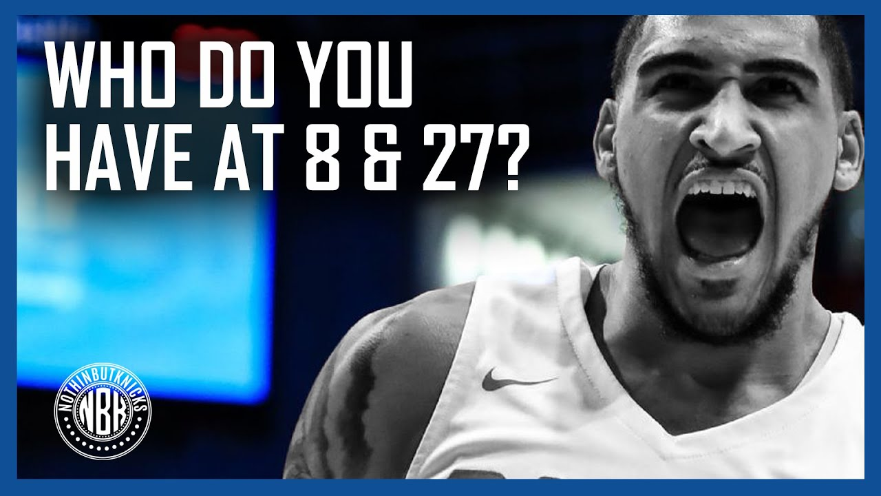 Knicks Fans Mock Big Board | Create your Big Board and we'll analyze the TOTAL results on the show!