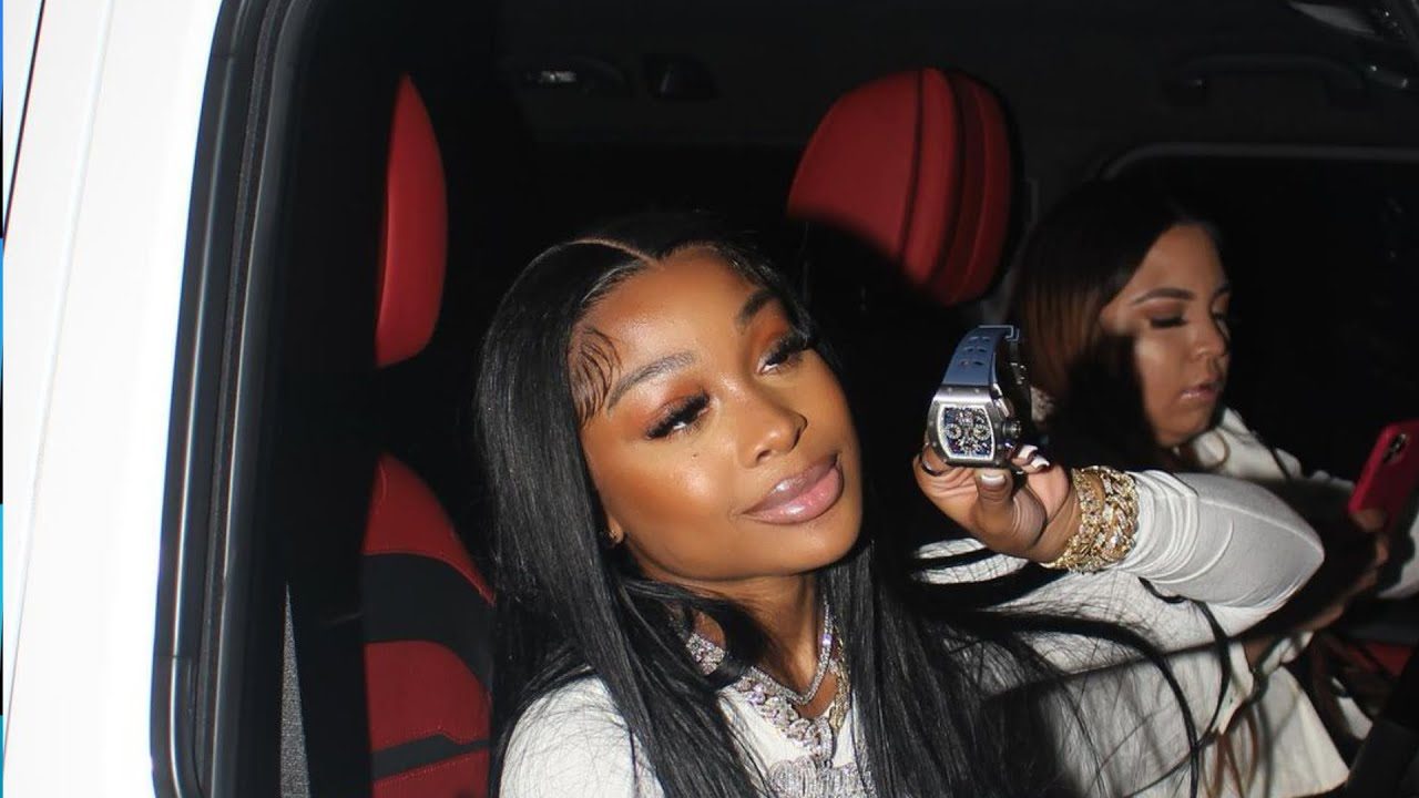 LIL BABY GIRLFRIEND JAYDA GOES VIRAL AFTER BUYING A LIMITED EDITION RICHARD MILLE WATCH