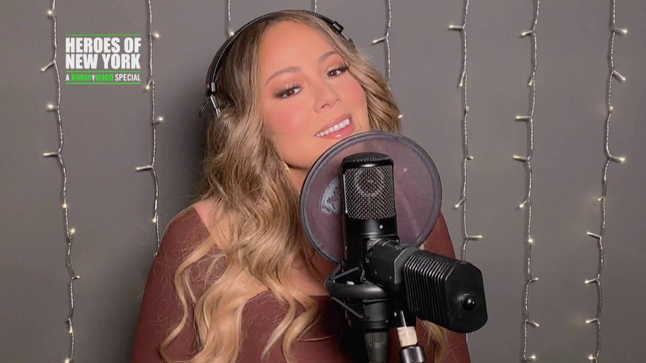 Mariah Carey - Heroes/Hero/Joy To The World Medley (Heroes of New York)