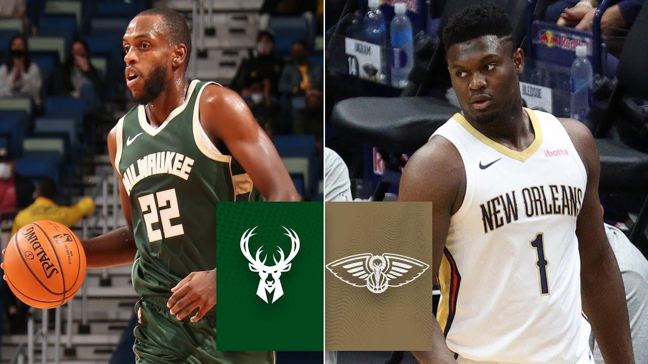 Milwaukee Bucks vs. New Orleans Pelicans | 2020 NBA Preseason Highlights
