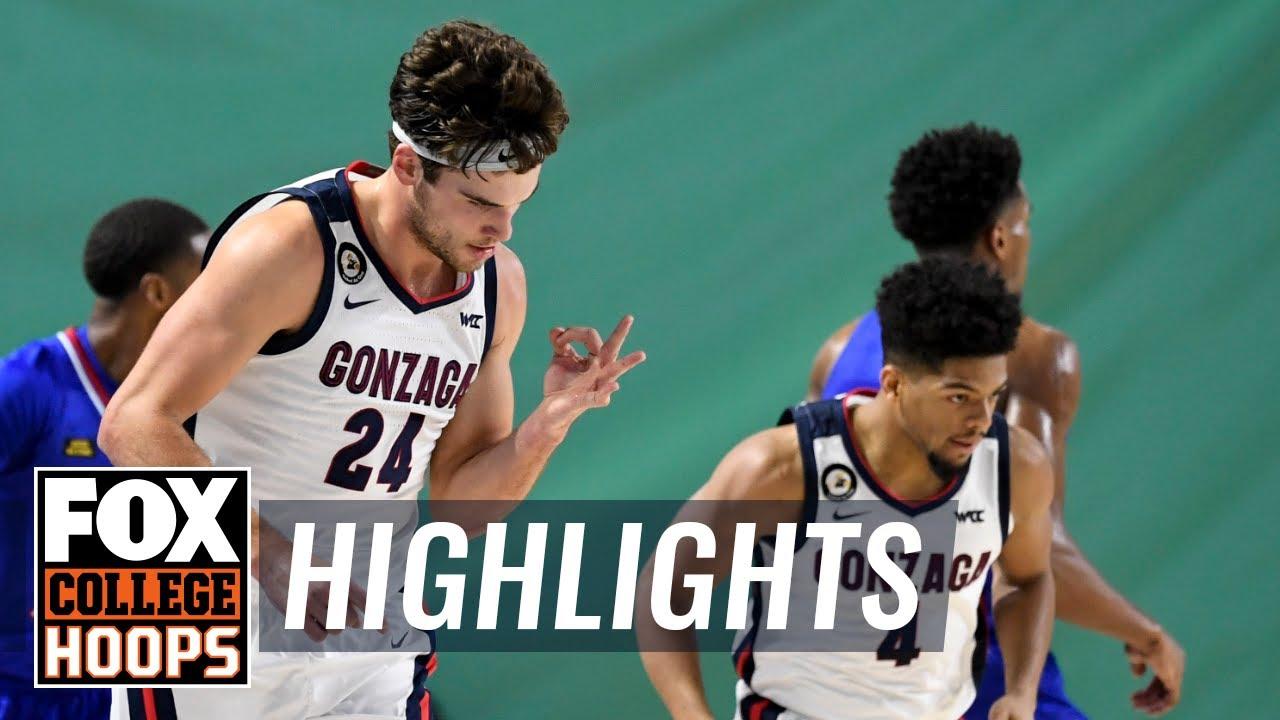No. 1 Gonzaga picks up statement win, 102-90, over No. 6 Kansas   FOX COLLEGE HOOPS HIGHLIGHTS
