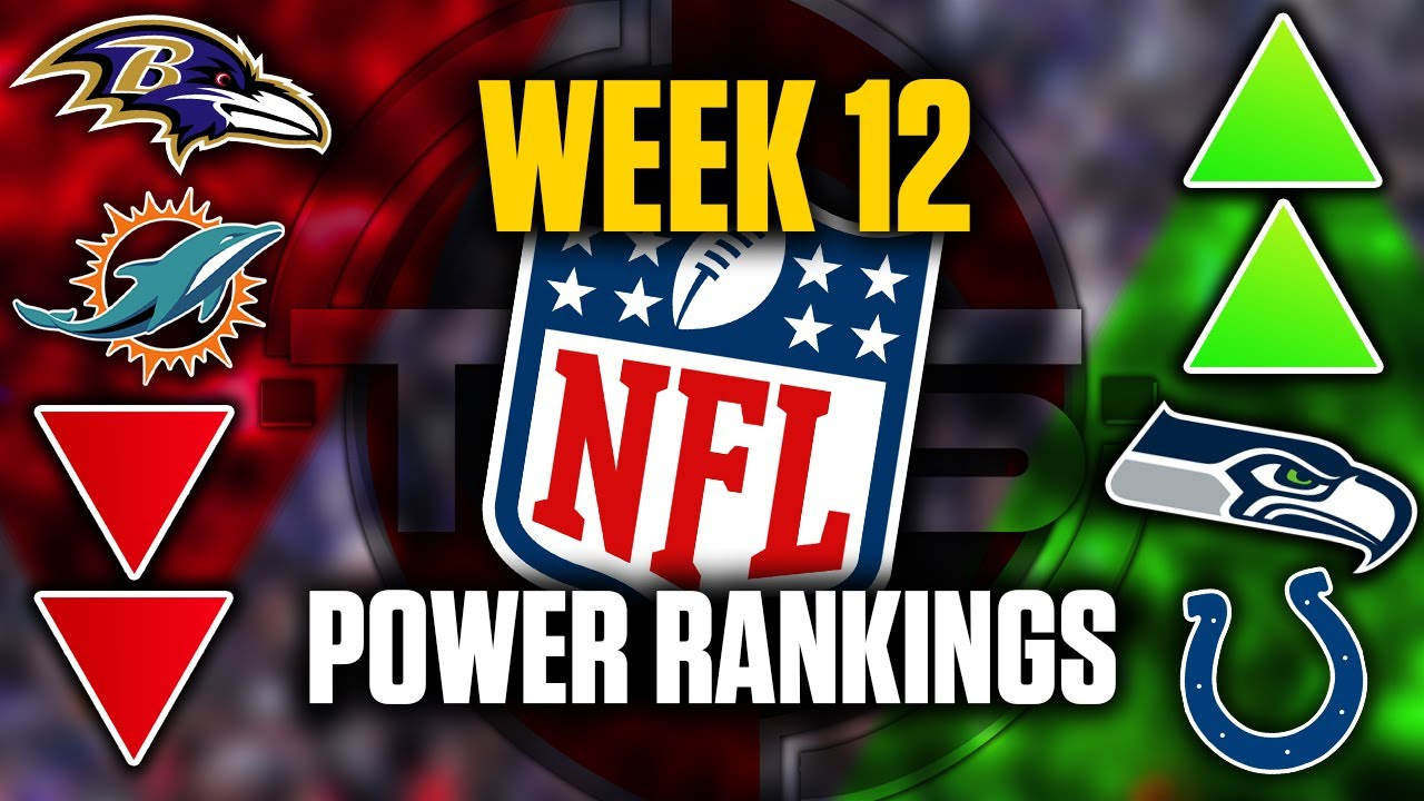 The Official 2020 NFL Power Rankings (Week 12 Edition) || TPS