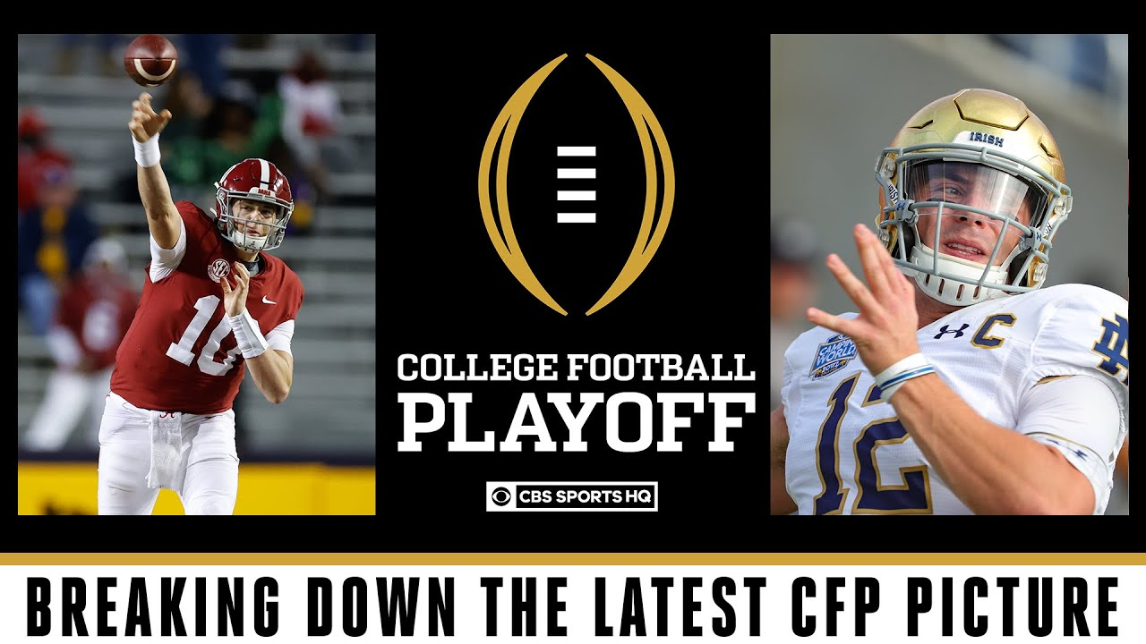 Top six remain the same in THIS WEEK'S College Football Playoff Rankings | CBS Sports HQ