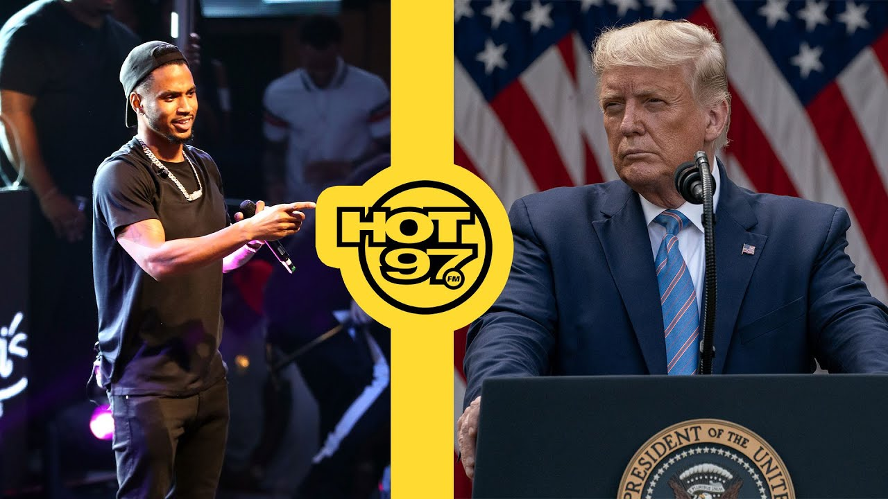 @Trey Songz Is Infected w/ COVID-19 + @President Donald J. Trump Released From Hospital