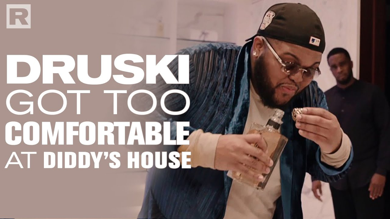 What Happens When Druski Gets Too Comfortable At Diddy's House?
