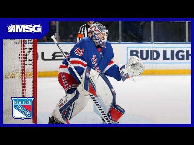 Alexandar Georgiev & Adam Fox on Ranger's Chemistry After Blowout Win | New York Rangers