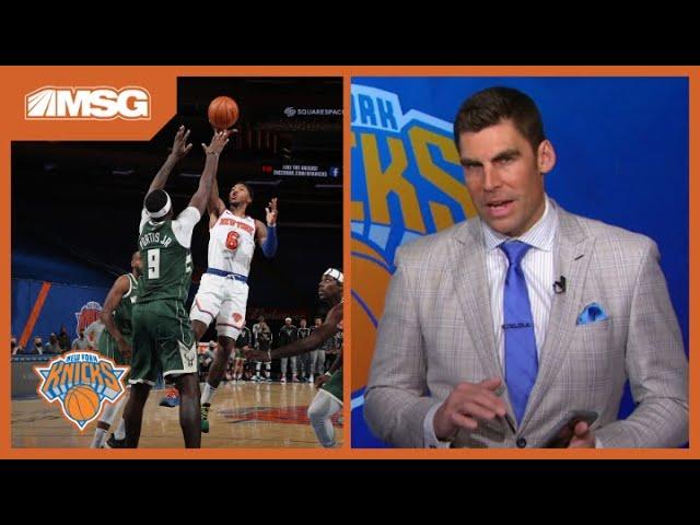 Analyzing the Knicks' Dominating Pick & Roll in Win vs. Bucks   New York Knicks