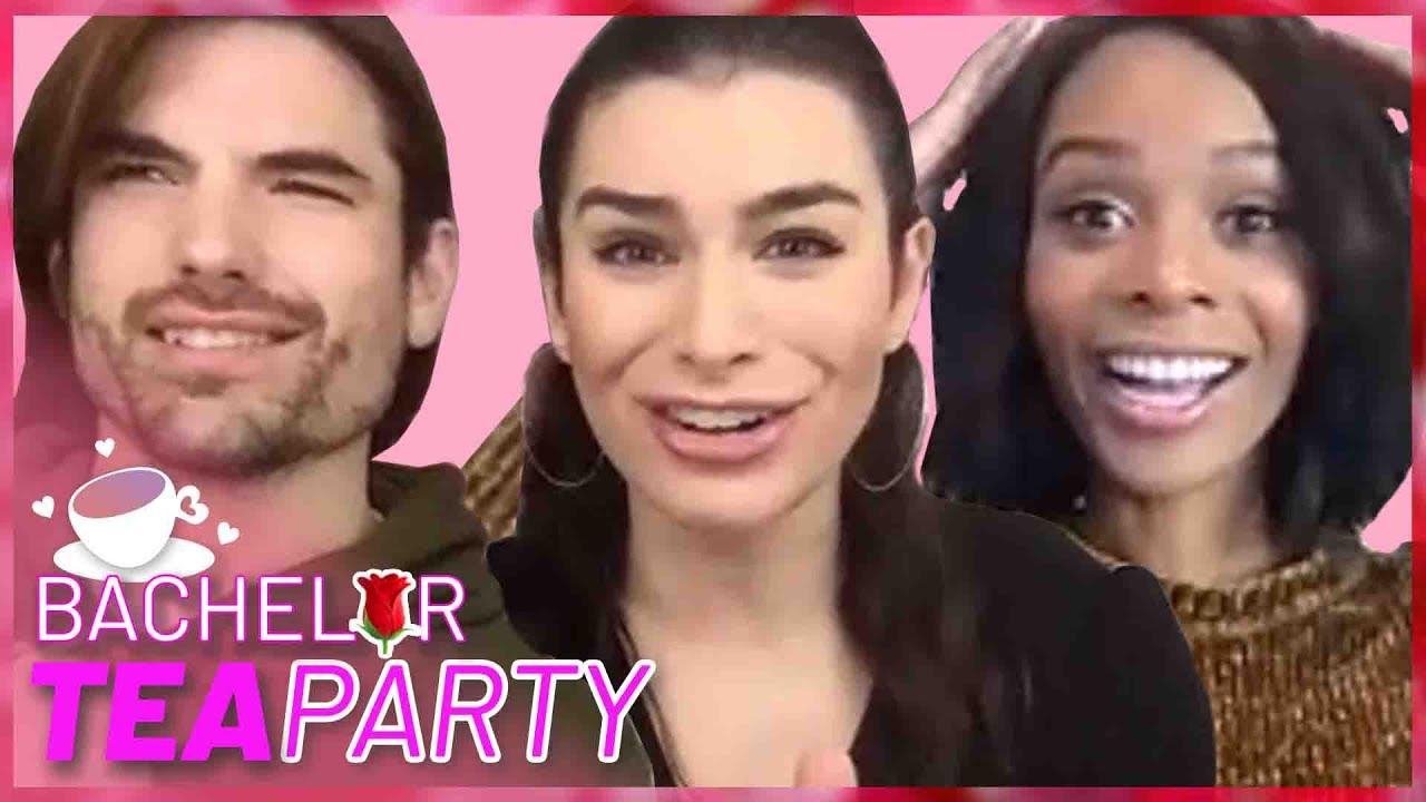 Ashley I. & Jared Haibon Blast Victoria & Anna's Antics | Bachelor Tea Party