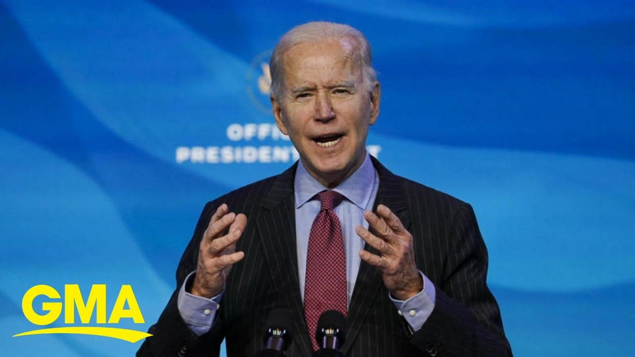 Biden prepares for historic inauguration amid growing pandemic, protests | GMA