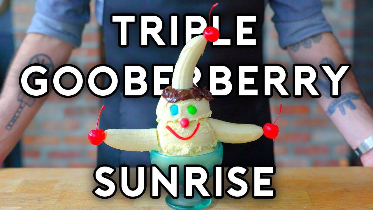 Binging with Babish: Triple Gooberberry Sunrise from SpongeBob SquarePants