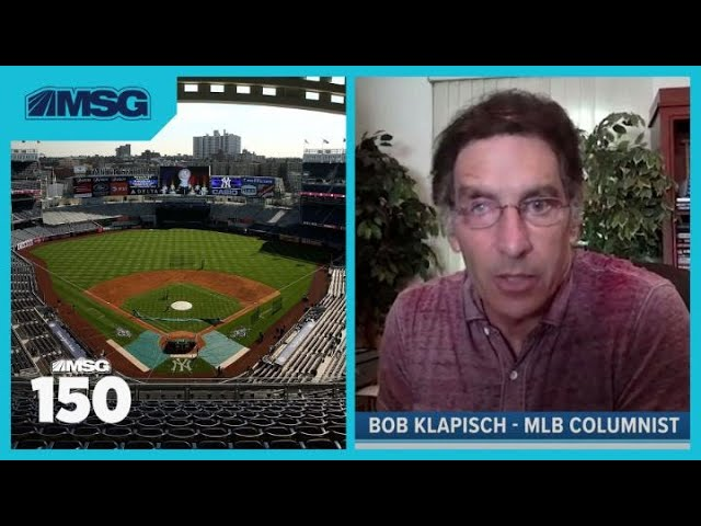 """Bob Klapisch Says """"There's Very Little Time"""" To Save MLB Season"""