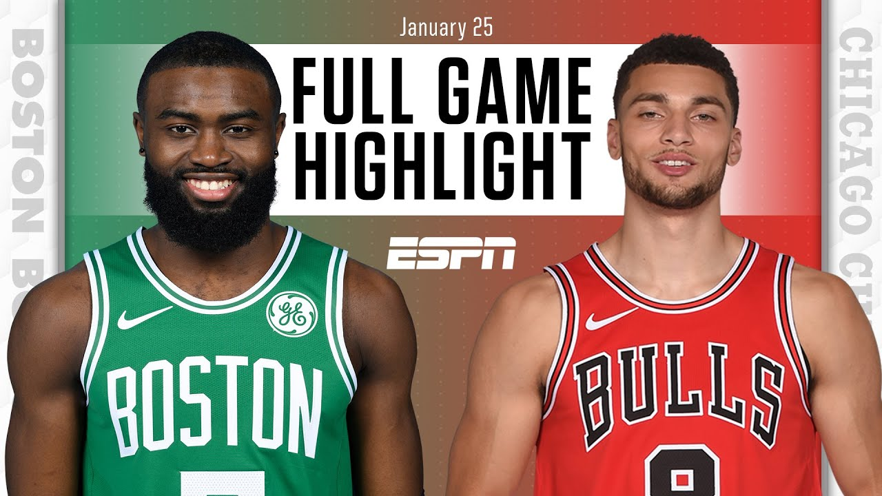 Boston Celtics vs. Chicago Bulls [FULL GAME HIGHLIGHTS] | NBA on ESPN