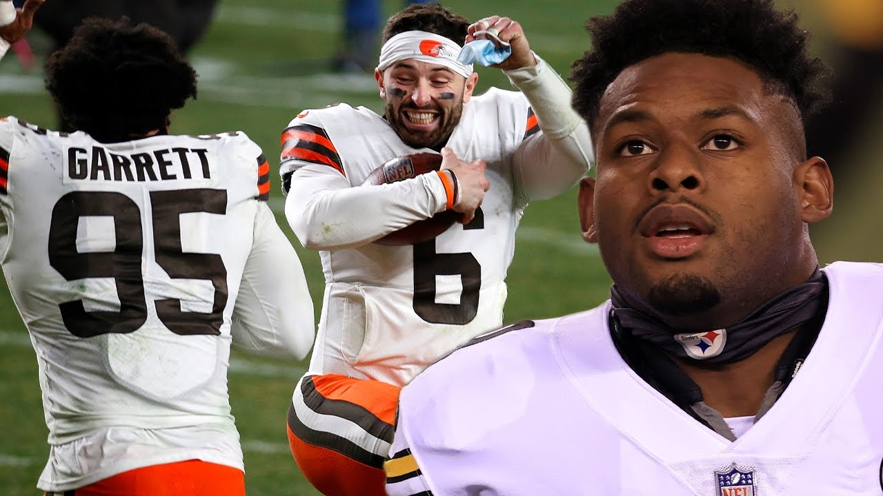 "Browns Troll JuJu Smith, Mock His ""Corvette, Corvette"" Tik Tok Dancing After HUGE Win Over Steelers"