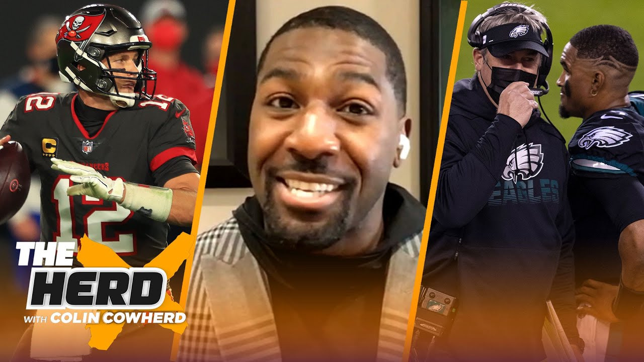 Bucs jelling offensively at right time; talks Eagles mindset & Tua — Greg Jennings | NFL | THE HERD