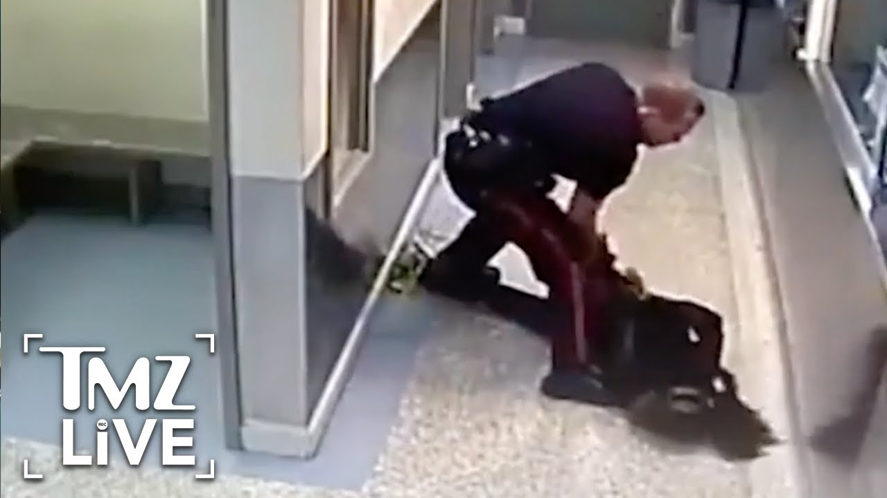Calgary Cop Slams Handcuffed Woman   TMZ Live