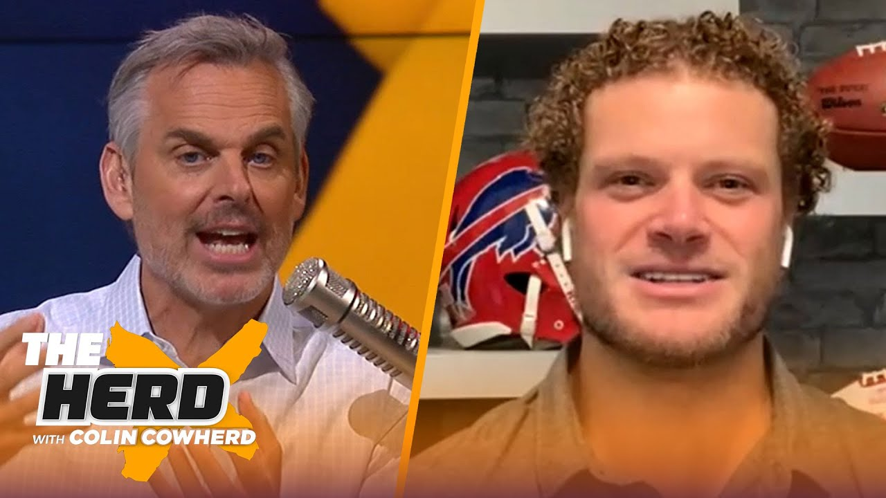 Eric Wood on how the Bills can slow down Lamar Jackson, Urban Meyer to Jaguars | NFL | THE HERD