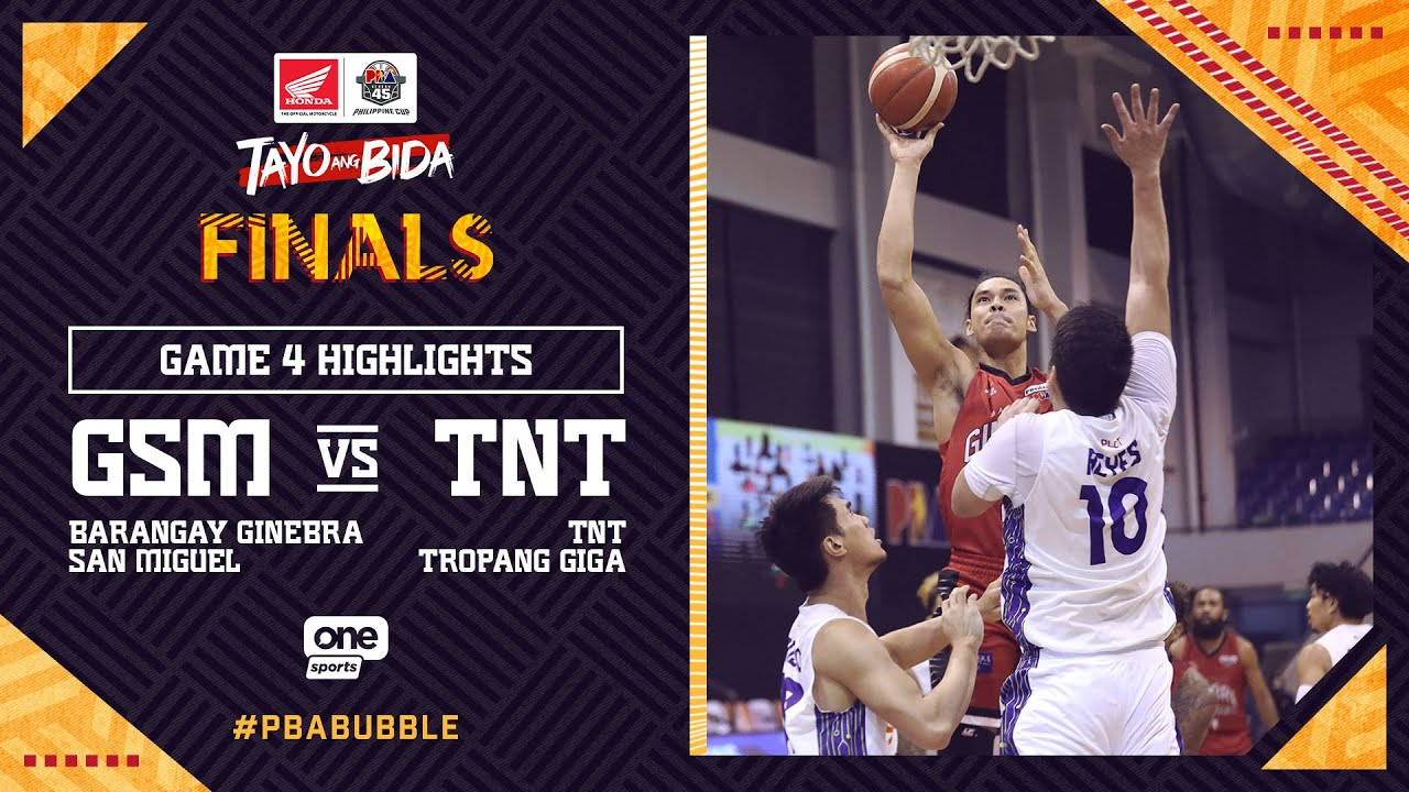 Highlights G4: Ginebra vs TNT | PBA Philippine Cup 2020 Finals