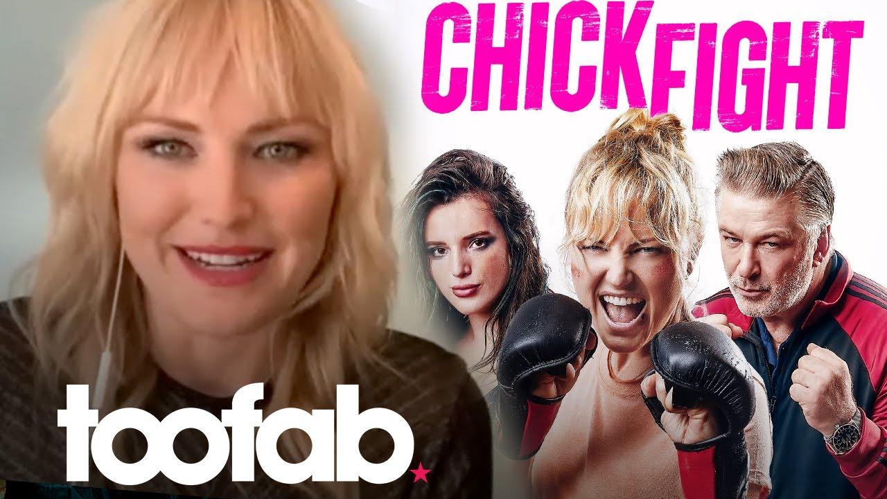 How Malin Akerman Trained for 'Chick Fight' & Who Got Injured! | toofab