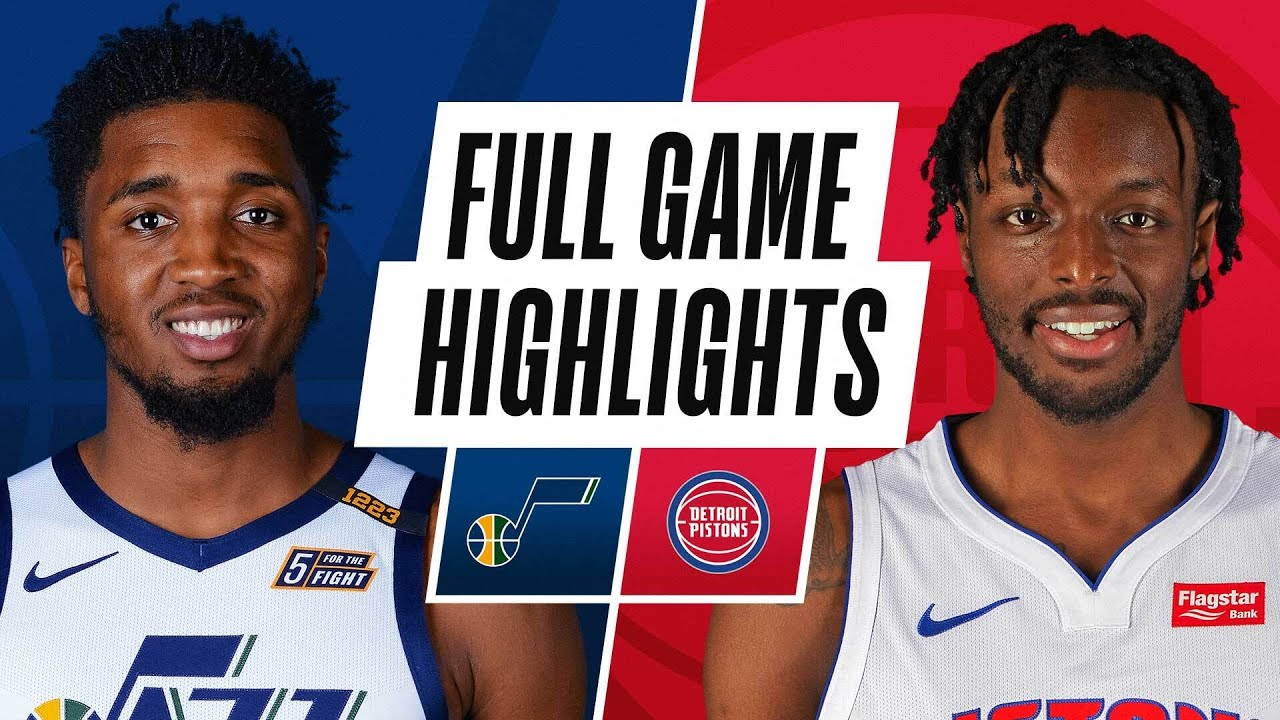 JAZZ at PISTONS | FULL GAME HIGHLIGHTS | January 10, 2021