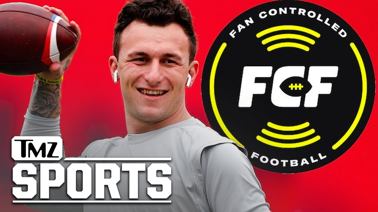 Johnny Manziel Officially Signs with Fan Controlled Football League, He's Back!   TMZ Sports
