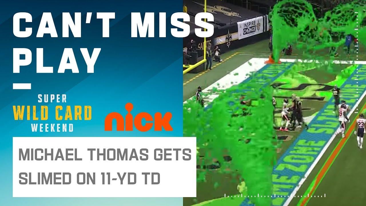 Michael Thomas Finds the Slime Zone for 6 Points