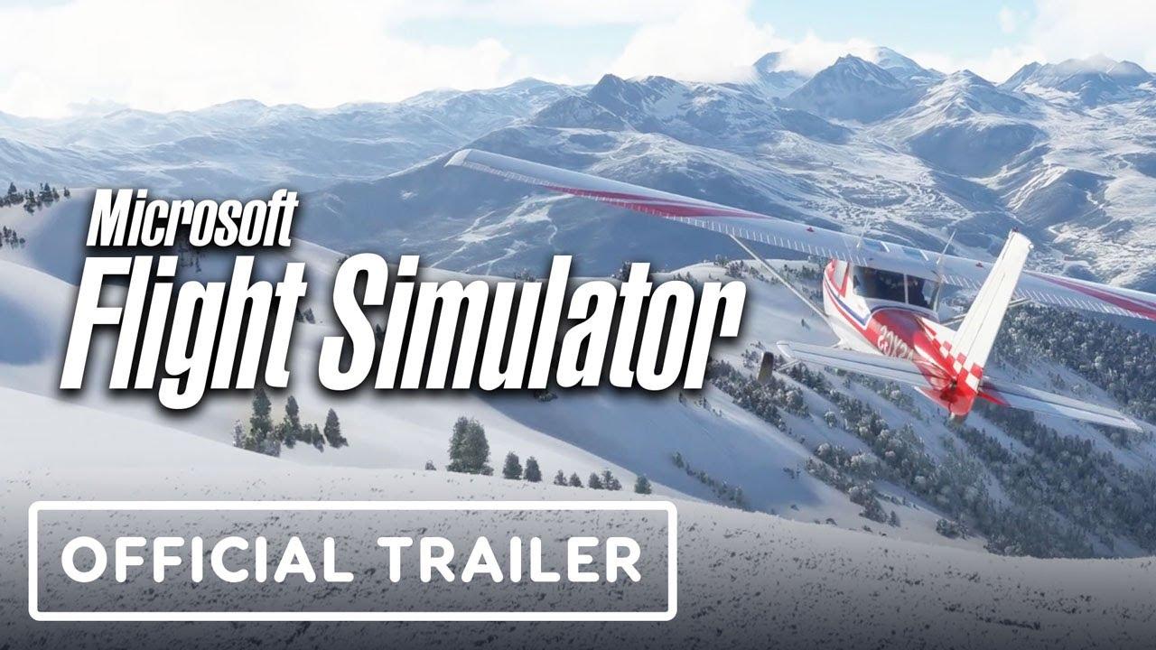 Microsoft Flight Simulator - Let It Snow Official Trailer
