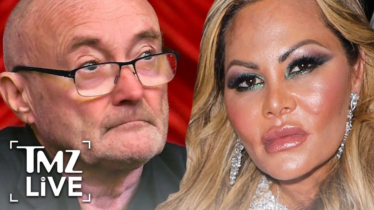 Phil Collins' Ex Says He Promised Half of Mansion, Claims Bad Hygiene | TMZ Live