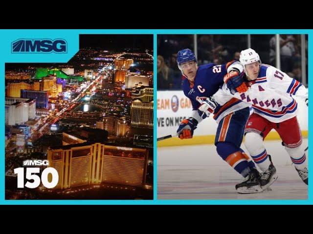 Rangers & Islanders Reportedly Headed To Las Vegas When NHL Resumes Play   The MSG 150