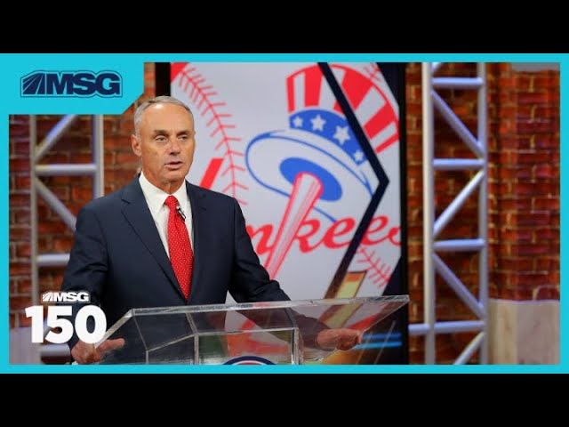 Rob Manfred Guarantees MLB's Return in 2020 | MSG 150