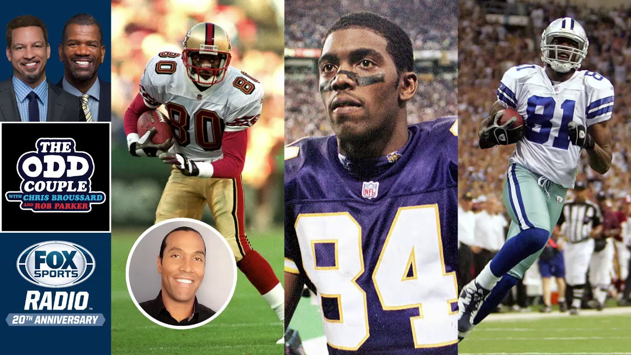 Rob Parker & T. J. Houshmandzadeh - Randy Moss Says He's the Best Wide Receiver Ever