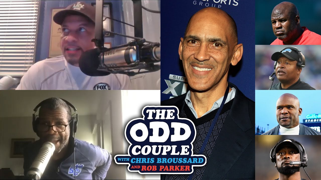 Tony Dungy Talks About Lack of Diversity in the NFL's Head Coaching Position | THE ODD COUPLE