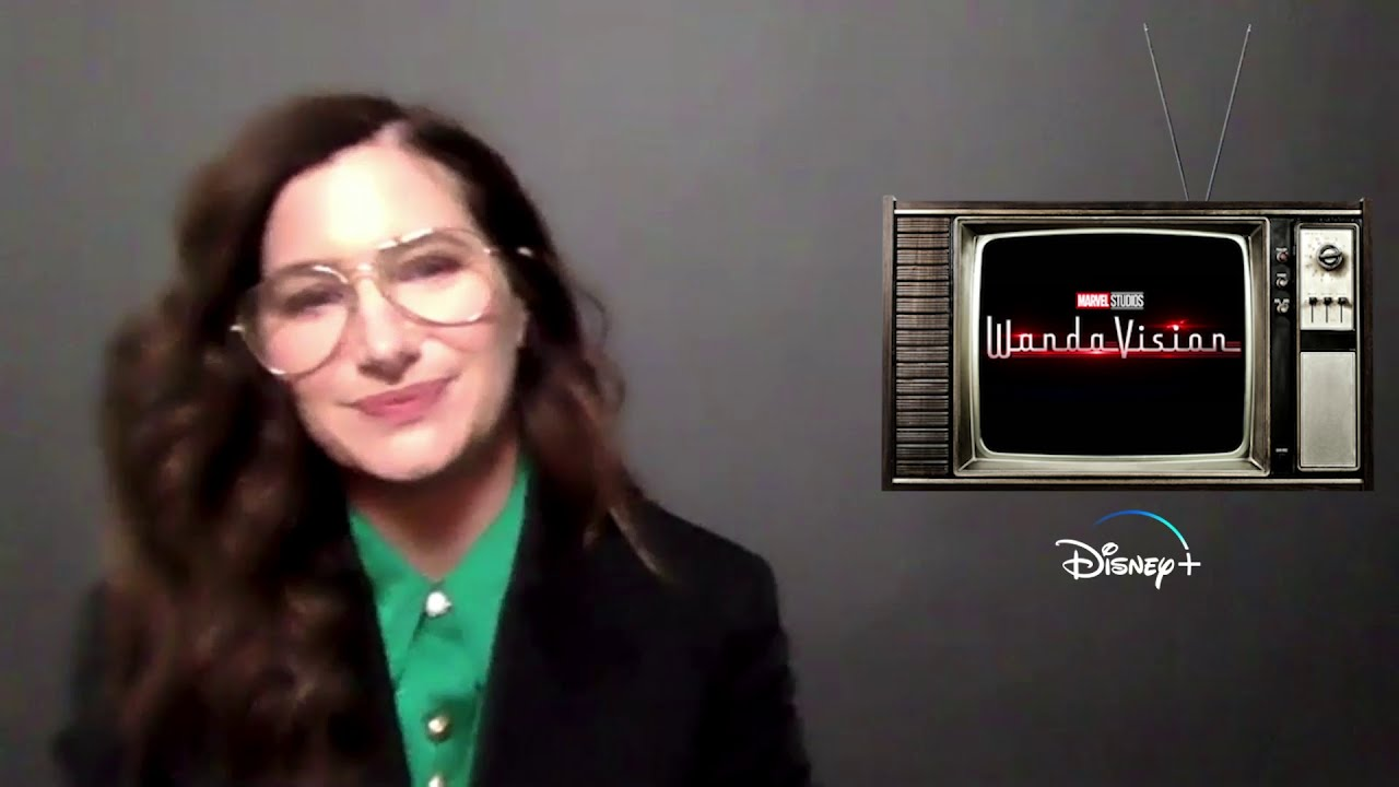 Wandavision Interview with Kathryn Hahn (Agnes) on BlackTree TV