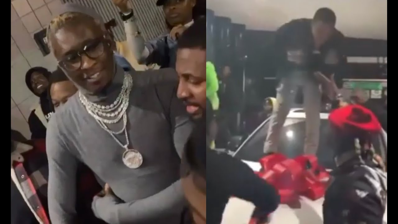 Young Thug Blesses Artist That Signed To Him For $0 Gives Lamborghini Truck