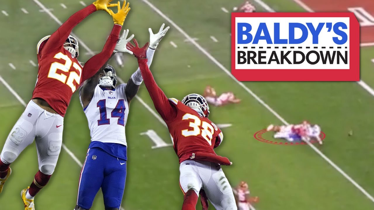 Breaking Down the Chiefs Lockdown Secondary during the AFC Championship | Baldy Breakdowns
